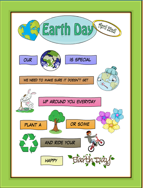 earth day poems for kids - photo #26